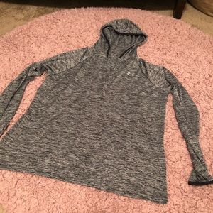v-neck Under Armour hoodie
